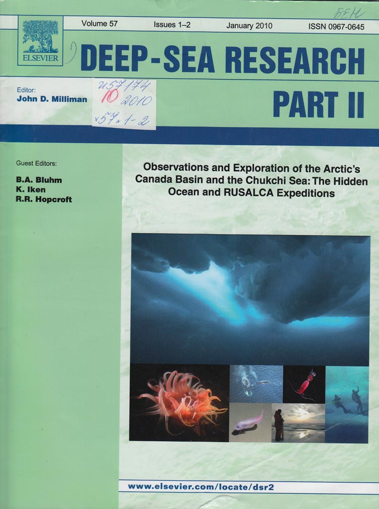 deep sea research part i oceanographic research papers Publication name: deep-sea research part i-oceanographic research papers research interests: geochemistry , oceanography , hydrography , indian ocean , salinity , and 9 more ocean circulation , spatial variability , sea water , numerical model , north pacific , deep sea , seasonal variations , transition period , and ocean currents.
